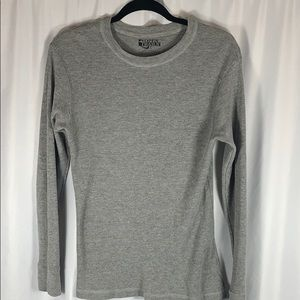 Open Trails Gray Thermal Top